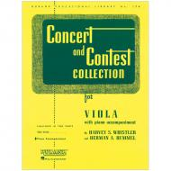 Concert And Contest Collection – Piano Accompaniment