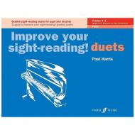 Harris, P.: Improve your sight-reading! Piano Duets Grades 0-1