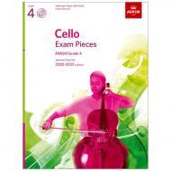 ABRSM: Cello Exam Pieces Grade 4 (2020-2023) (+CD)