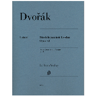 Dvorák, A.: Streichquartett Es-dur Op. 51