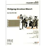Mozart, W.A.: Sonate KV 292