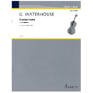 Waterhouse, G.: Variations for Violoncello solo