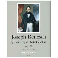 Benesch, J.: Quartett in G-dur Op. 28