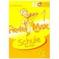Holzer-Rhomberg, A.: Fiedel-Max für Viola Schule 1 – Klavierbegleitung