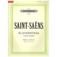 Saint-Saens: Klavierwerke