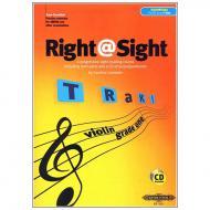 Lumsden, C.: Right@Sight for Violin Grade 1 (+CD)