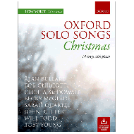 Oxford Solo Songs: Christmas (+Online Audio)