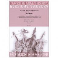 Bach, J.S.: Arioso, 2. Satz aus dem Cembalo-Konzert BWV 1056