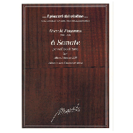 Paganini, N.: 6 Sonate per violino e chitarra Op. 3