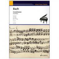 Bach, J. S.: Inventionen BWV 772 – 786