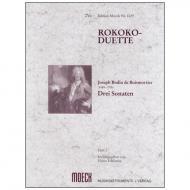 Boismortier, J. B. d.: Rokoko-Duette Band 1: 3 Sonaten