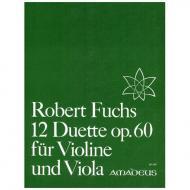 Fuchs, R.: 12 Duette op.60