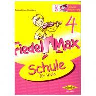 Holzer-Rhomberg, A.: Fiedel-Max für Viola Schule 4 – Klavierbegleitung