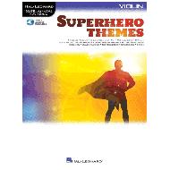 Superhero Themes for Violin (+Online Audio)