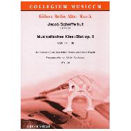 Scheiffelhut, J.: Musikalisches Klee=Blat op. 5 - Partie I-III