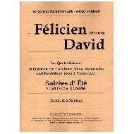 David, F.:  Soirées d' Été Band 3 (Nr. 5 und 6)