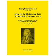 Händel, G. F.: Ankunft der Königin von Saba ( aus »Solomon« HWV 67 )