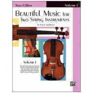 Applebaum, S.: Beautiful Music for two String Instruments Vol. 1 – Cello
