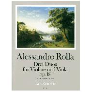 Rolla, A.: Drei Duos op. 18