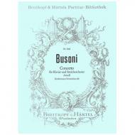 Busoni, F.: Concerto d-Moll, Busoni-Verz. 80