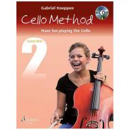 Koeppen, G.: Cello Method Lesson Book 2 (+CD)