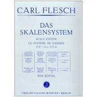 Flesch, C: Das Skalensystem für Violine