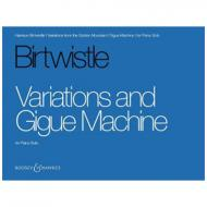 Birtwistle, H.: Variations and Gigue Machine