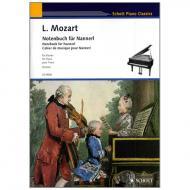 Schott Piano Classics – Mozart, L.: Notenbuch für Nannerl
