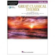 Great Classical Themes for Violin (+Online Audio)