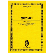 Mozart, W. A.: Quartett  KV478 g-Moll