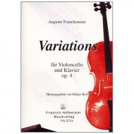 Franchomme, A.: Variations Op. 4 G-Dur