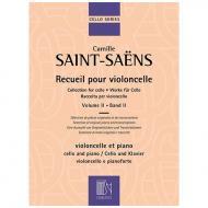 Saint-Saëns, C.: Werke für Cello Band 2