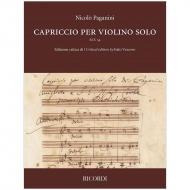 Paganini, N.: Capriccio per violino solo M.S. 54