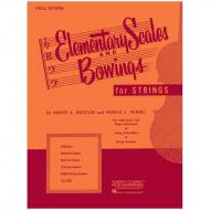 Whistler, H. S.: Elementary Scales And Bowings – Full Score