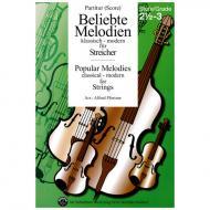 Beliebte Melodien: klassisch bis modern Band 4 – Partitur
