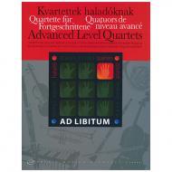 Ad libitum – Quartette für Fortgeschrittene