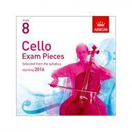 ABRSM: Cello Exam Pieces Grade 8 (2016-2019) 2 CDs