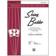 Applebaum, S.: String Builder Book Three – Piano