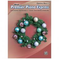 Alfred's Premier Piano Express – Christmas Book 4