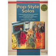 O'Reilly, J./Bach. S.: Pop Style Solos (+CD)