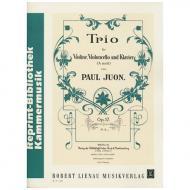Juon, P.: Trio Op.17