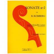 Romberg, B.: Sonate C-Dur Nr. 2 – 1. Satz