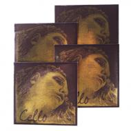 EVAH PIRAZZI GOLD Cellosaiten SATZ von Pirastro