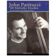 Patitucci, J.: 60 melodic Etudes