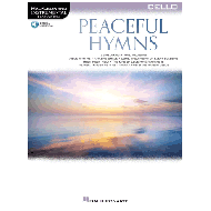 Peaceful Hymns for Cello (+Online Audio)