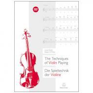 Arditti, I./Platz, R.: Die Spieltechnik der Violine (+DVD)