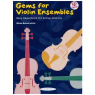 Butterworth, H.: Gems For Violin Ensembles Band 1 (+CD)