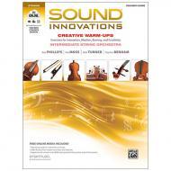 Sound Innovations for String Orchestra: Creative Warm-Ups - Lehrerpartitur (+Online Video und Audio)
