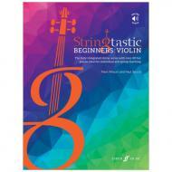 Wilson, M. / Wood, P.: Springtastic Beginners: Violin (+Online Audio)