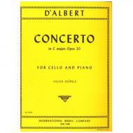 d´Albert, E.: Violoncellokonzert Op. 20 C-Dur (Despalj)